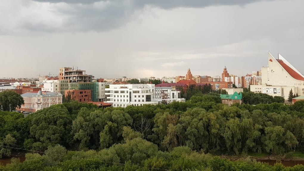 В Омске ливень затопил тоннель в Привокзальный поселок