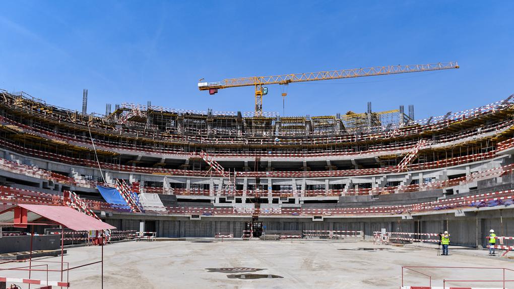 «Авангард» показал, как «Арена Омск» изменилась за год строительства