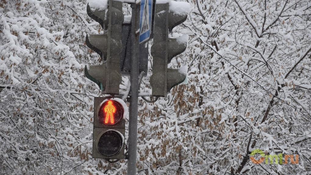 В Омске несколько светофоров обретут голос