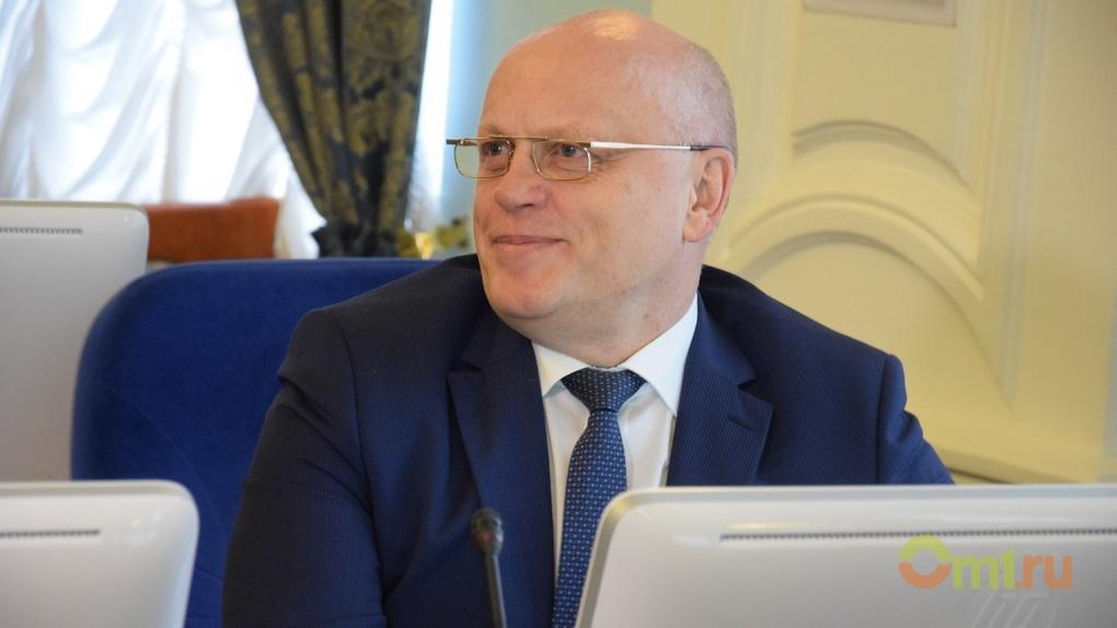 Виктор Назаров посетил свое первое и последнее заседание в омском Заксобрании