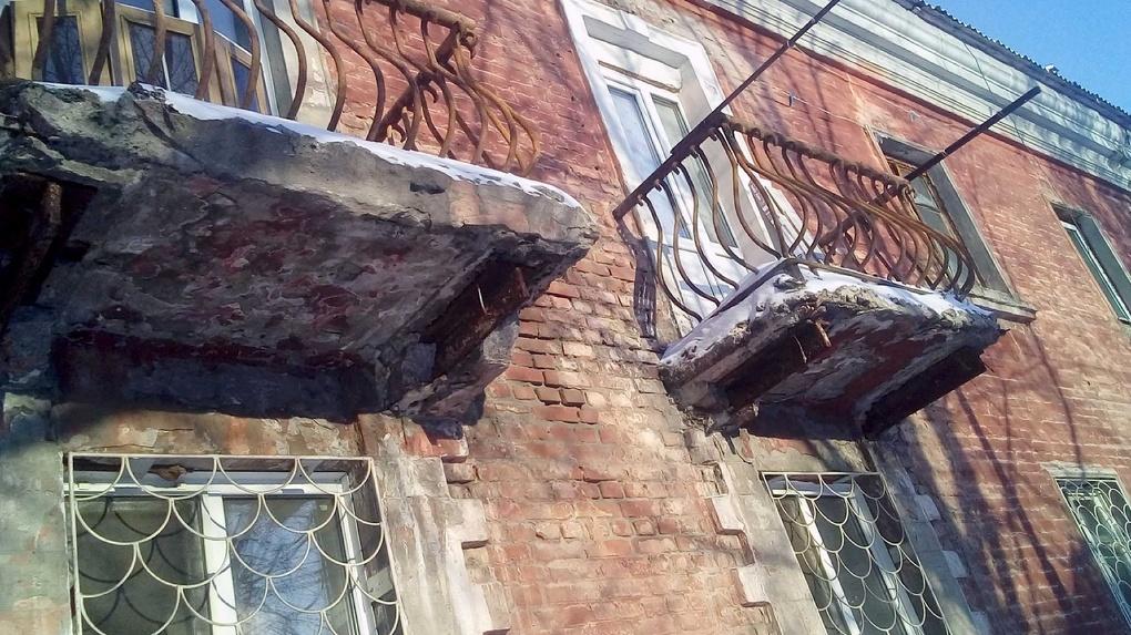 Омскими балконами-убийцами займется прокуратура