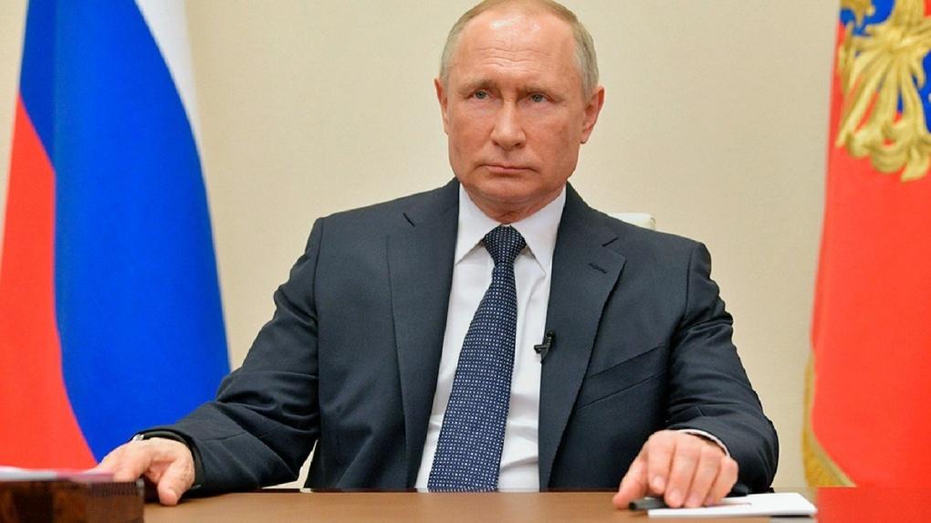 Путин объявил 6,7 и 8 мая нерабочими днями с сохранением заработной платы