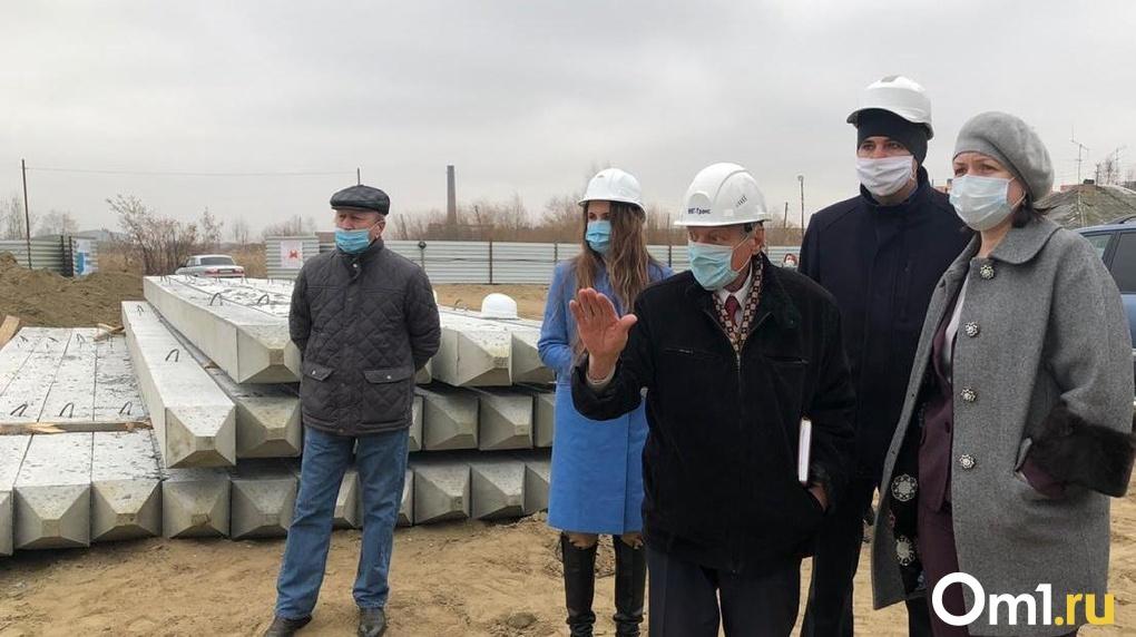 Мэр Омска рассказала о строительстве нового дома для переселенцев из аварийного жилья