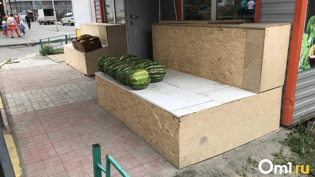 В Новосибирскую область доставили две тысячи тонн арбузов