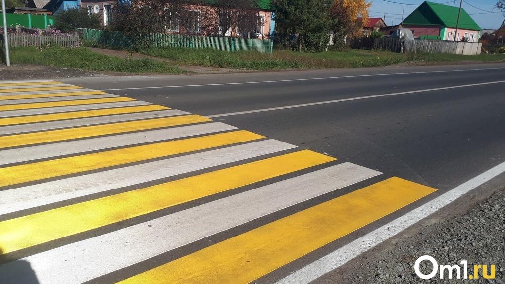 В Омске пешехода сначала не пропустили на «зебре», а потом избили