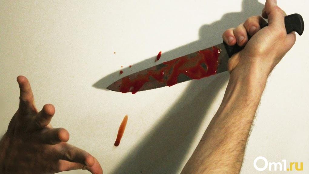 Вчера в Омской области зарезали двоих мужчин