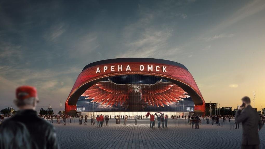 В 2ГИС появилась трёхмерная проекция ледовой «Арены Омск», которую построят к 2023 году