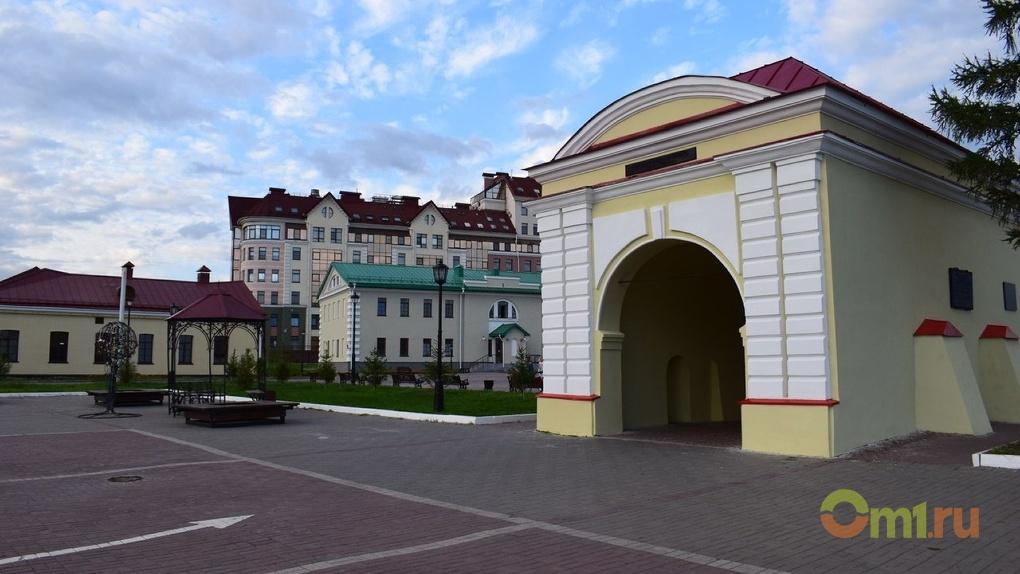 В Омской крепости завтра начнет палить сигнальная пушка