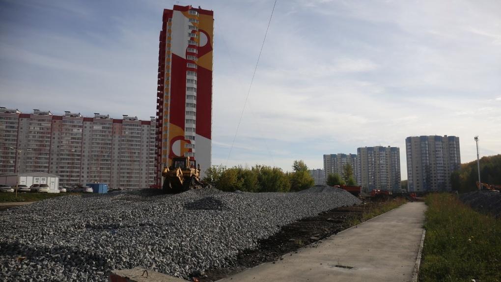 Новую дорогу в новосибирский ЖК «Матрёшкин двор» откроют до конца 2021 года