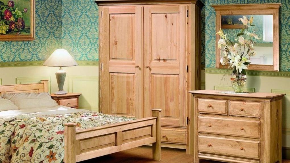 Преимущества мебели из массива сосны