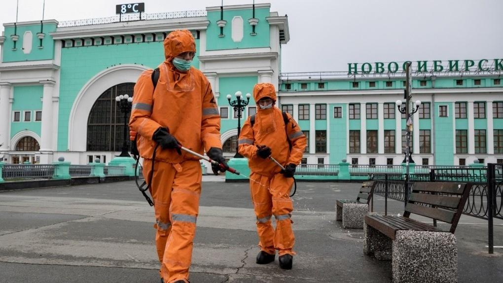 В Новосибирской области возобновили дезинфекцию объектов с массовым скоплением людей