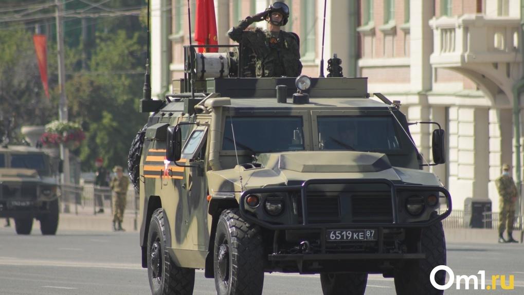LIVE. Марш солдат и военные бомбардировщики: смотрите прямую трансляцию Парада Победы в Новосибирске