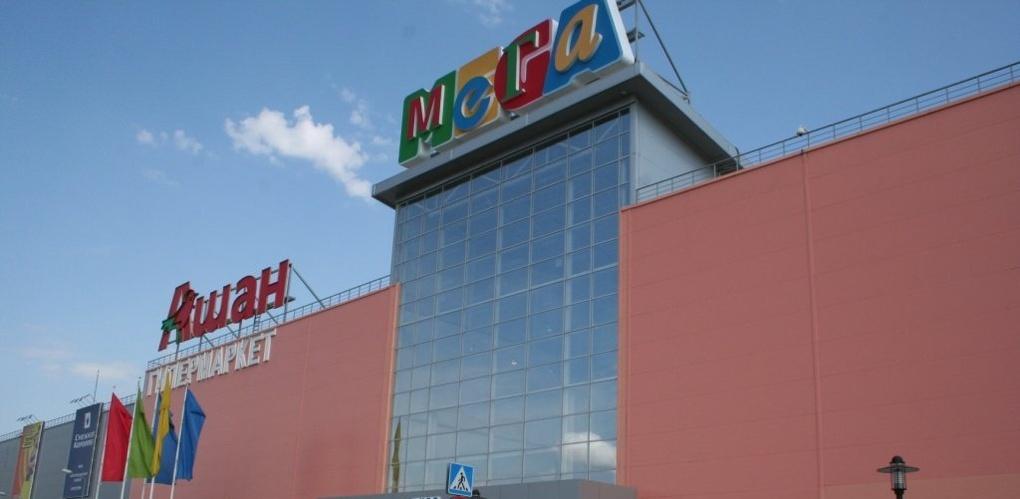Омская «Мега» открылась после сильного ливня