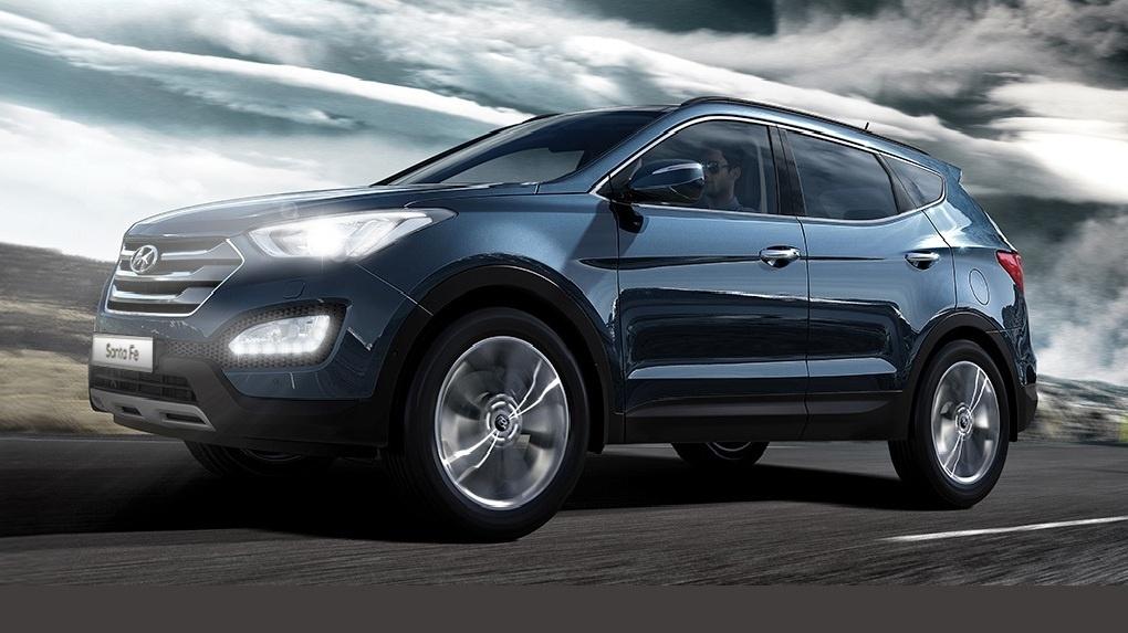 Hyundai Santa Fe на эксклюзивных условиях в «Феникс-Авто»