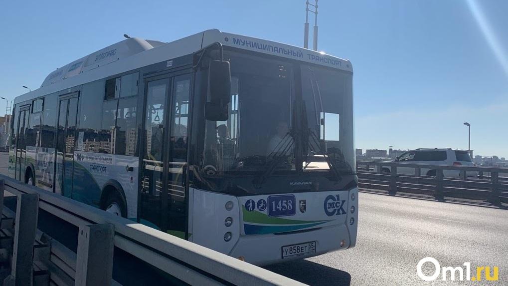 В Омске автобус сбил пешехода на «зебре»