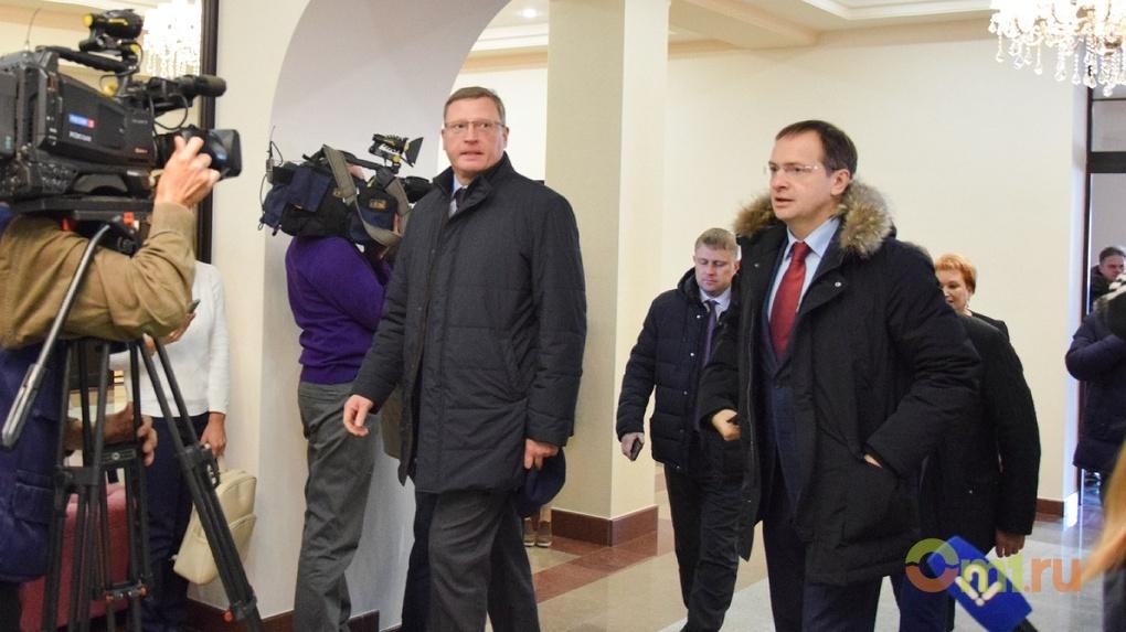 Бурков и Мединский договорились провести в Омске театральный фестиваль
