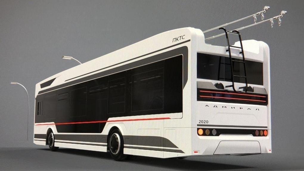В Омске появятся 33 новых троллейбуса с системой климат-контроля и мультимедиа