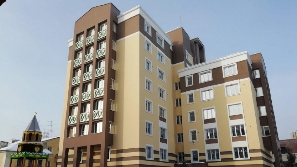 В Новосибирске достроили жилой комплекс вместо детского сада на улице Народная