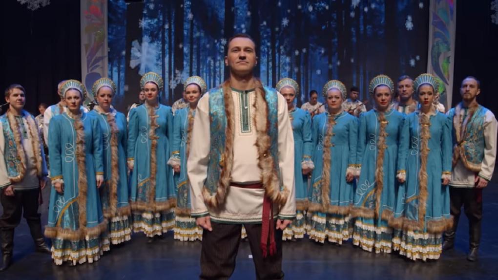 Омский хор появился в Instagram актрисы Настасьи Самбурской