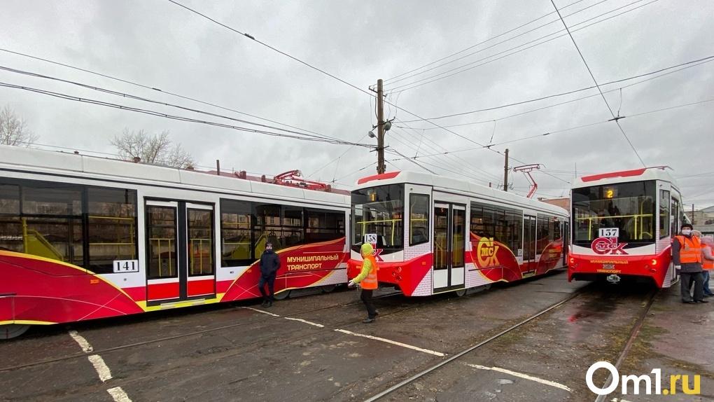 «Самый выгодный контракт». В Омске состоялась презентация новых трамвайных вагонов «Спектр»