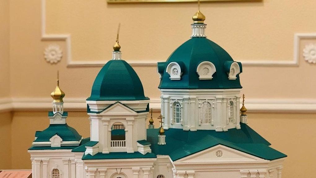 Полежаев уверен, что Ильинский собор в Омске начнут строить в 2021 году