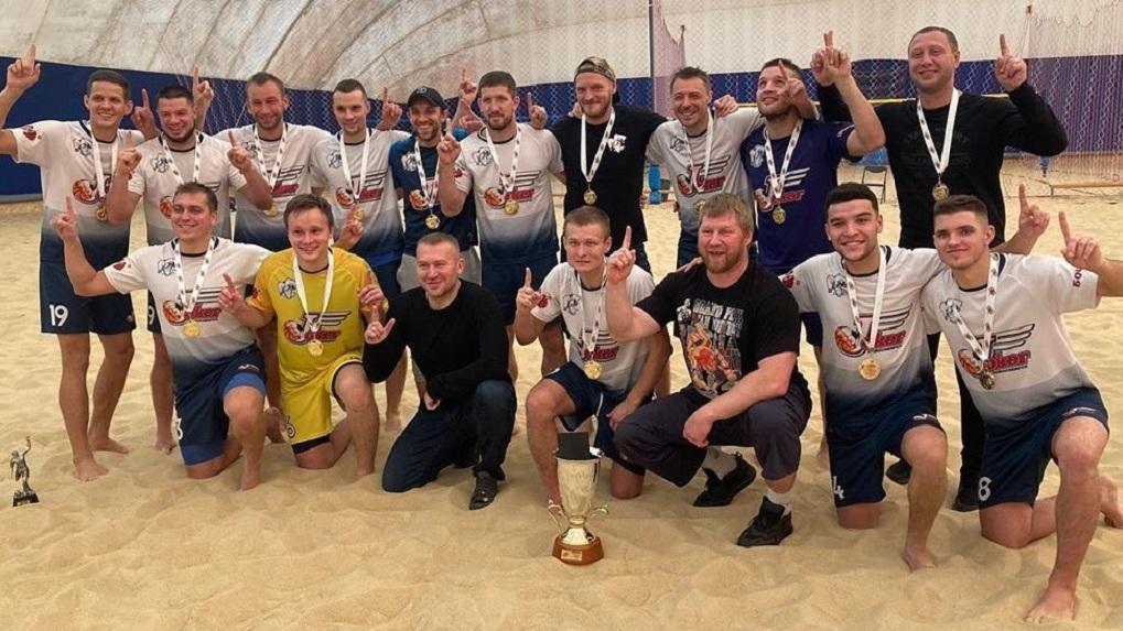 Новосибирская команда выиграла Евразийскую лигу по пляжному футболу