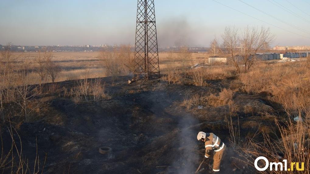 Стала известна причина страшного пожара в Знаменском районе Омской области