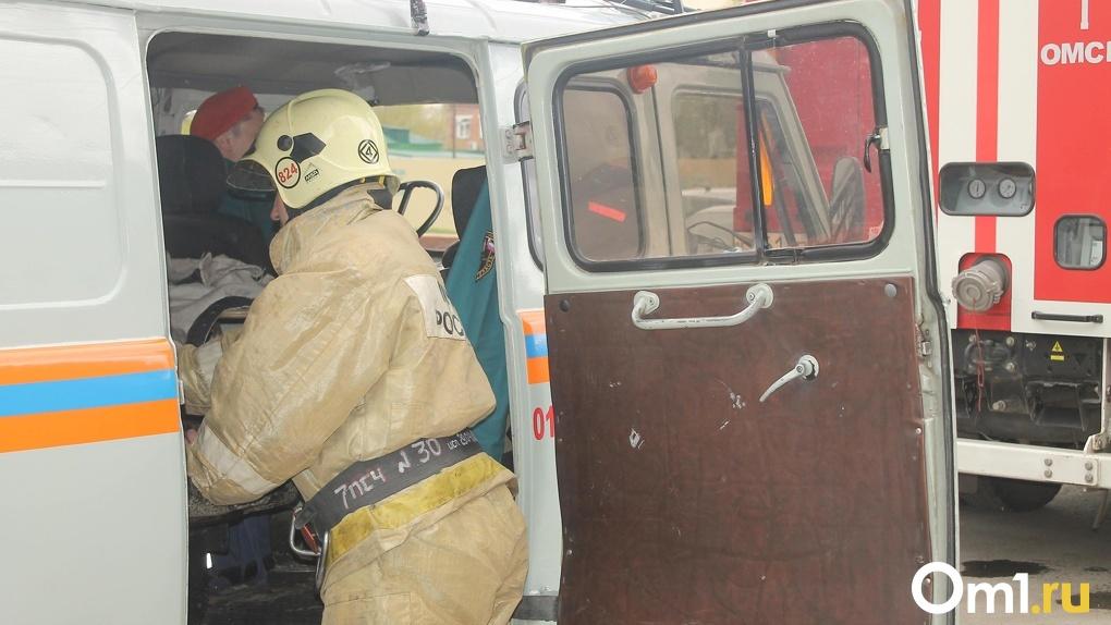 На даче в Омске сгорел неизвестный мужчина