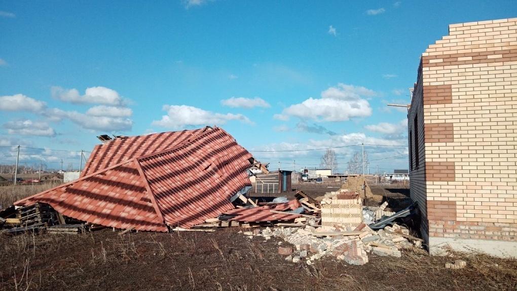 Недавний ураган «обошелся» Омской области в 165 млн рублей