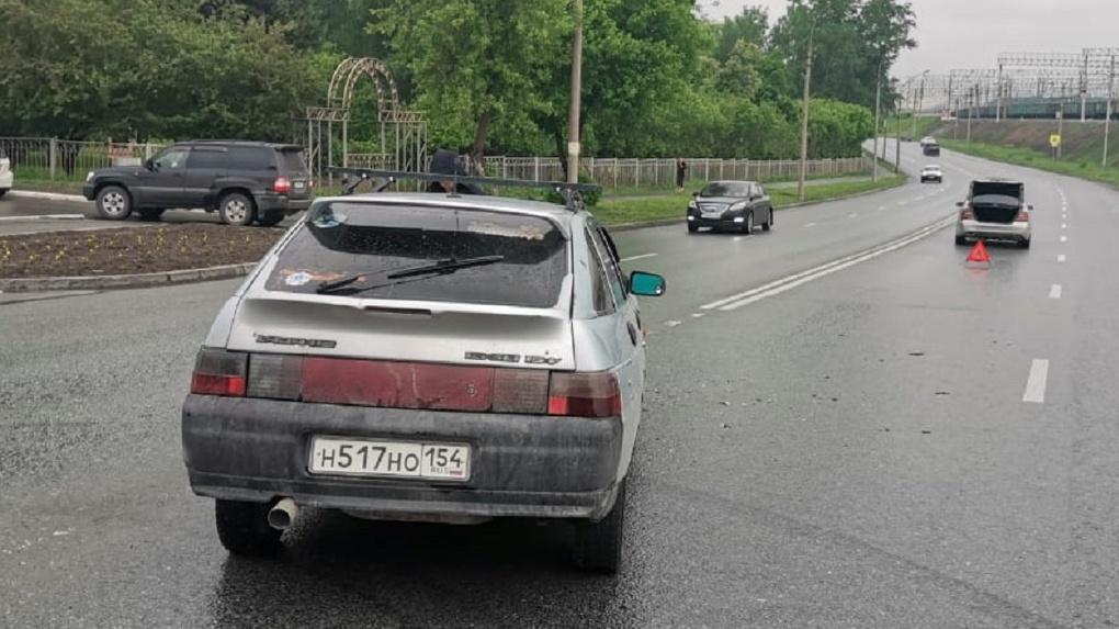 Четырехлетний мальчик получил травму головы при ДТП в Новосибирске