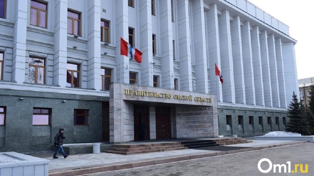 Здание правительства Омской области отреставрируют за 1 млн рублей