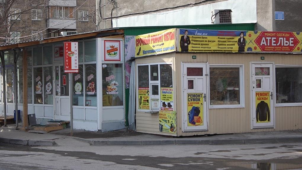 Около 500 киосков работают в Новосибирске нелегально