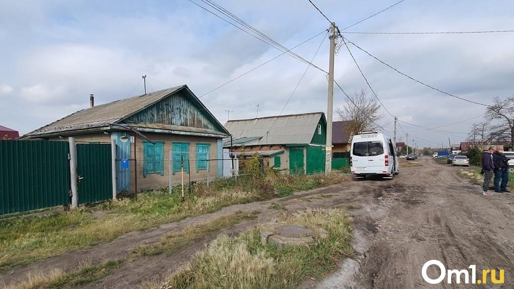Появились подробности о многодетном отце, который зарезал дочь в деревне Омской области