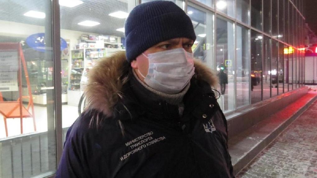 Вячеслава Невежина встретили под Новосибирском пикетом против транспортной реформы