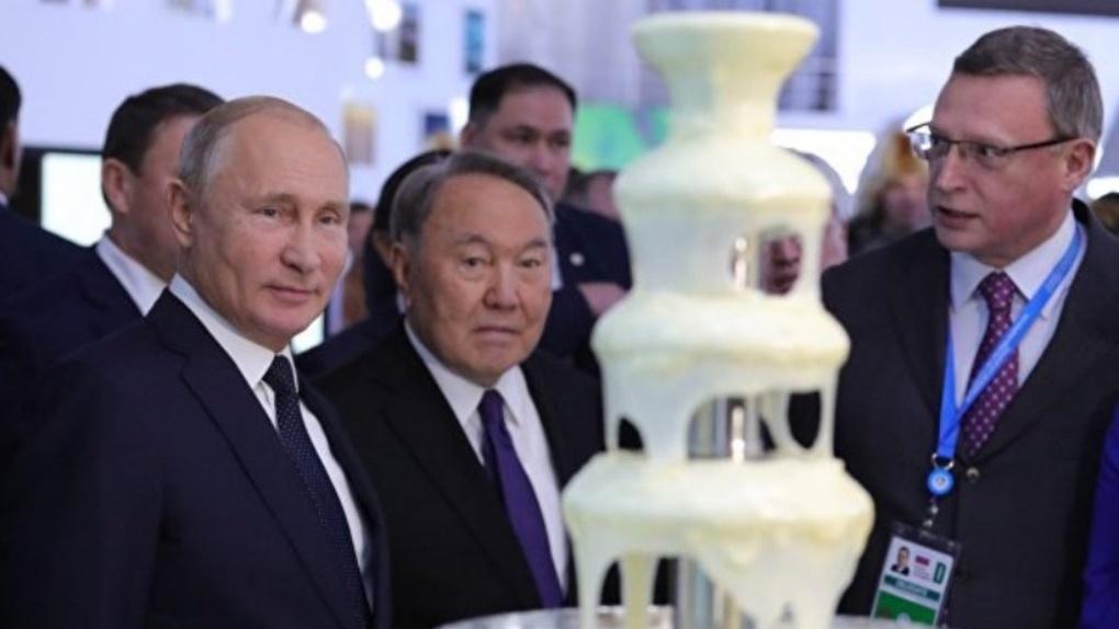 Раскрыт маршрут, по которому поедут в Омске Путин и Назарбаев — КАРТА