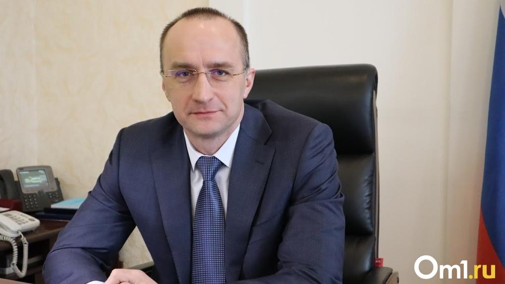 Министр омского здравоохранения Дмитрий Вьюшков уволен