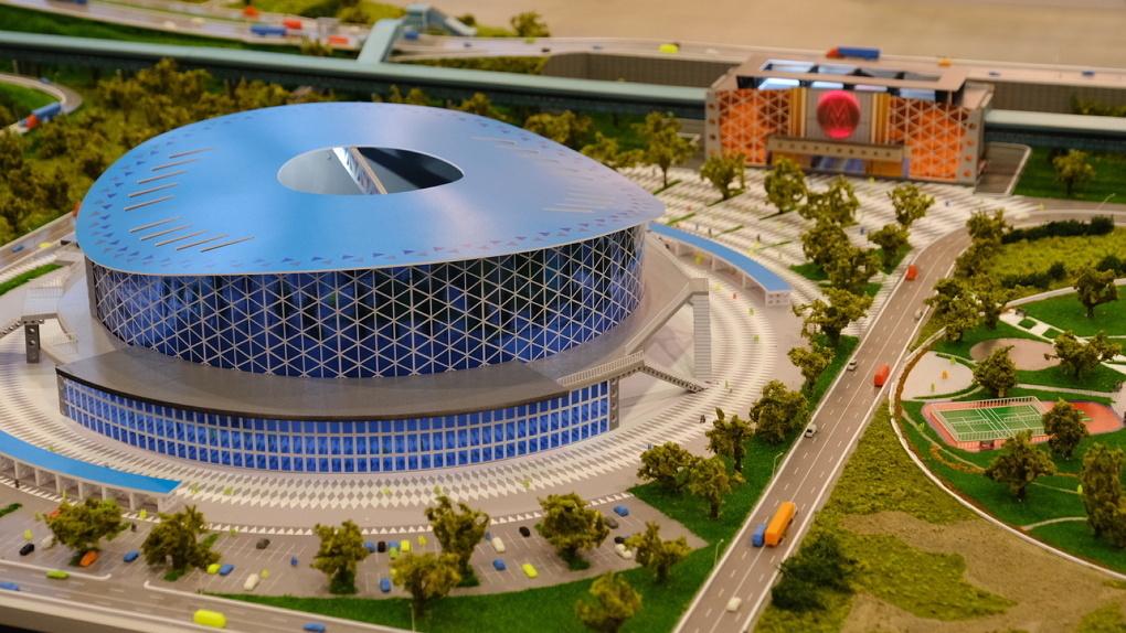 В Минстрое рассказали об отставании темпов строительства новосибирского ЛДС к МЧМ-2023
