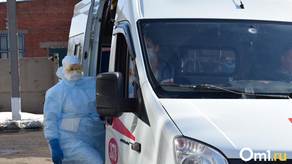 В восьми районах Омской области не затухает эпидемия COVID-19
