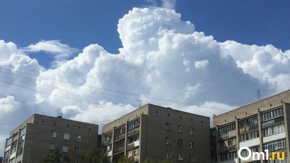 Резкое похолодание с ливнями вернётся в Новосибирск после жарких выходных