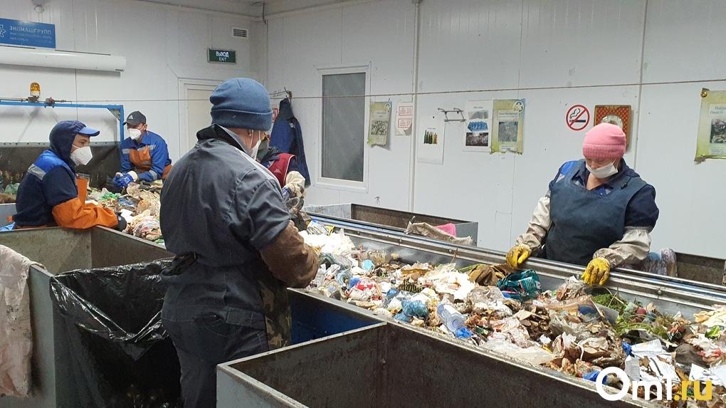 В Омской области появится второй мусоросортировочный завод