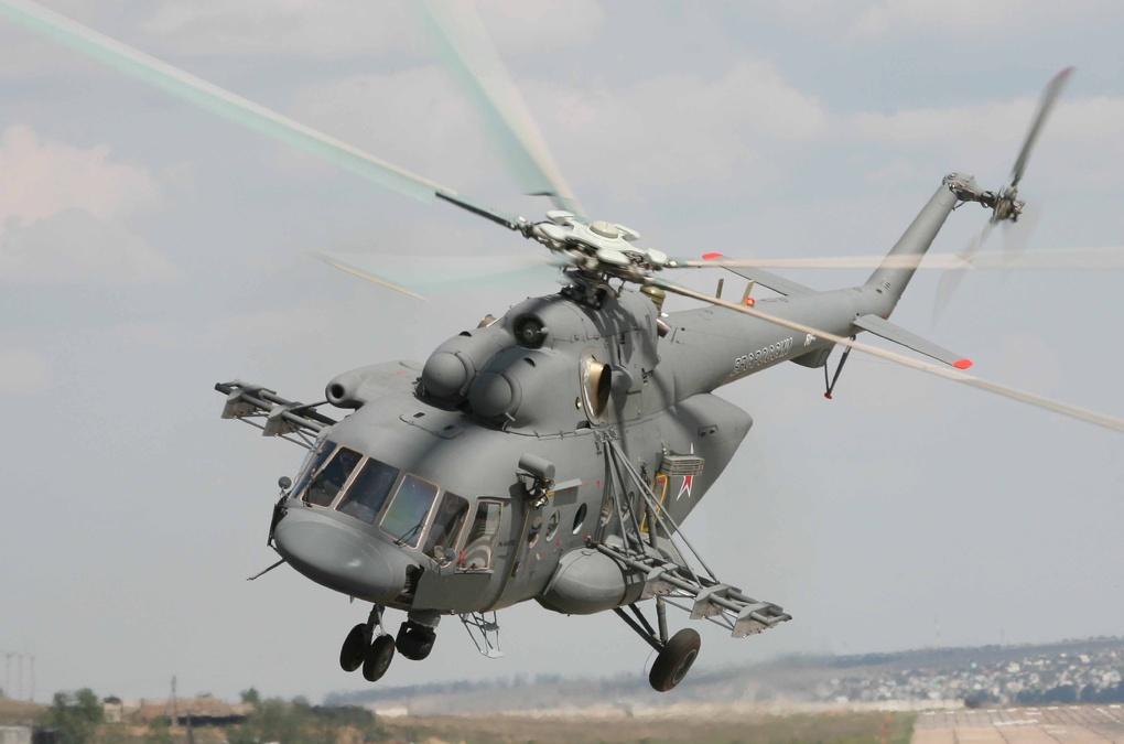 В Хабаровском крае вертолет Ми-8 упал в море, шесть человек погибли