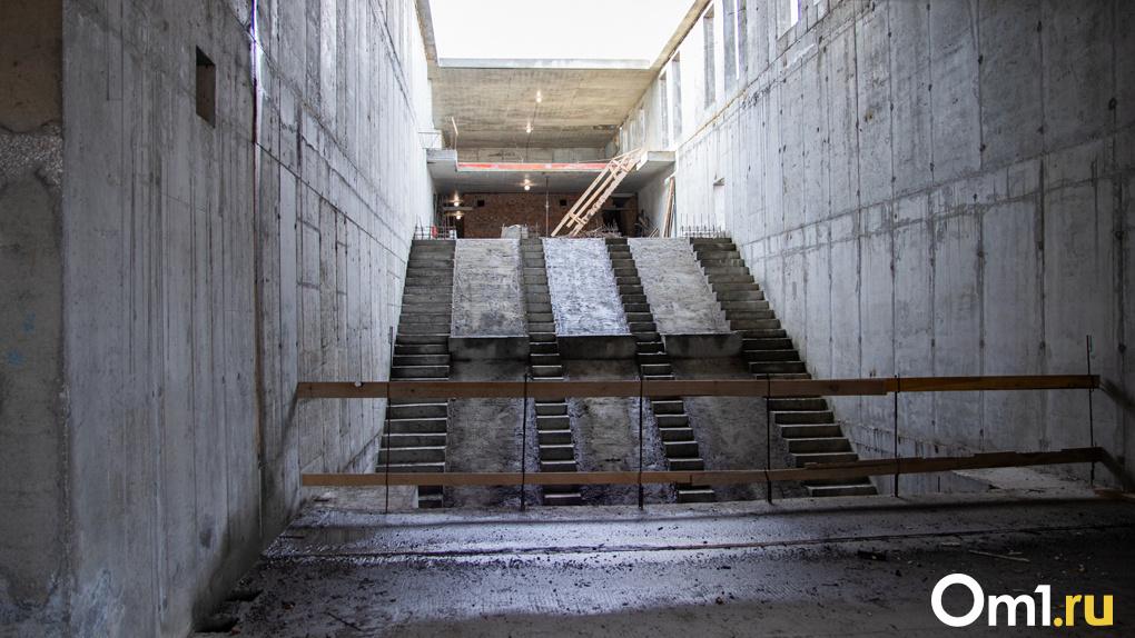 Как в эпоху коронавируса строят новосибирскую станцию метро «Спортивная»? Эксклюзивный фоторепортаж