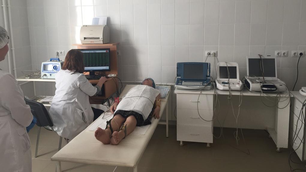 В Омске отремонтировали поликлинику
