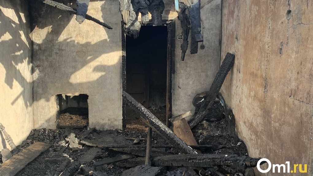 В Омской области у мужчины, требующего вернуть паспорт СССР, сгорел дом