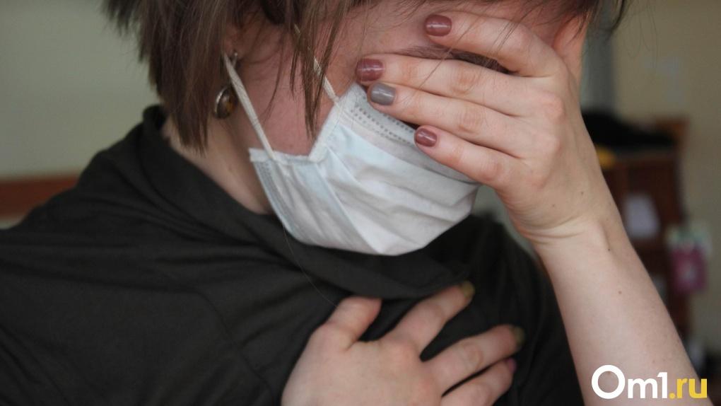 Омичка заразилась коронавирусом от родственника из Москвы