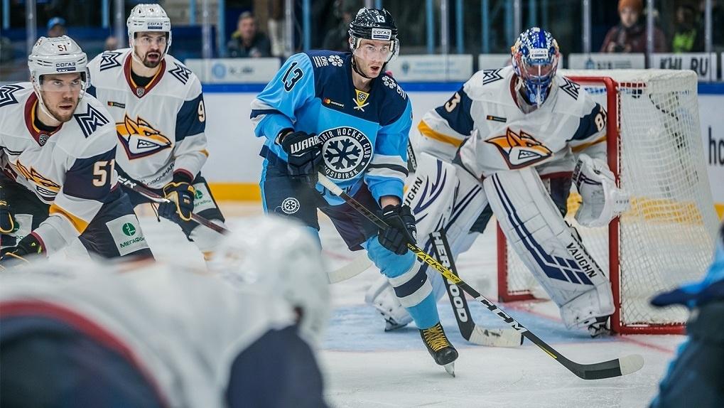 ХК «Сибирь» одержал разгромную победу в матче с «Металлургом»