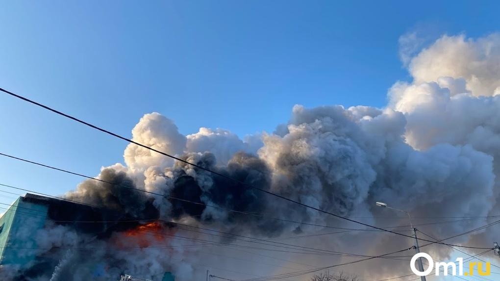 Всё сгорело дотла. Пожар под Омском едва не унёс жизни стариков и детей