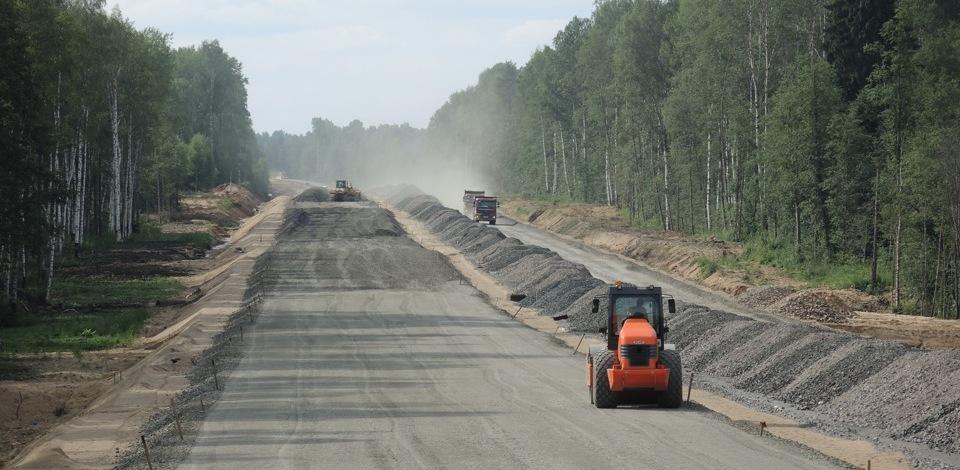 В Омской области построили четыре новые дороги