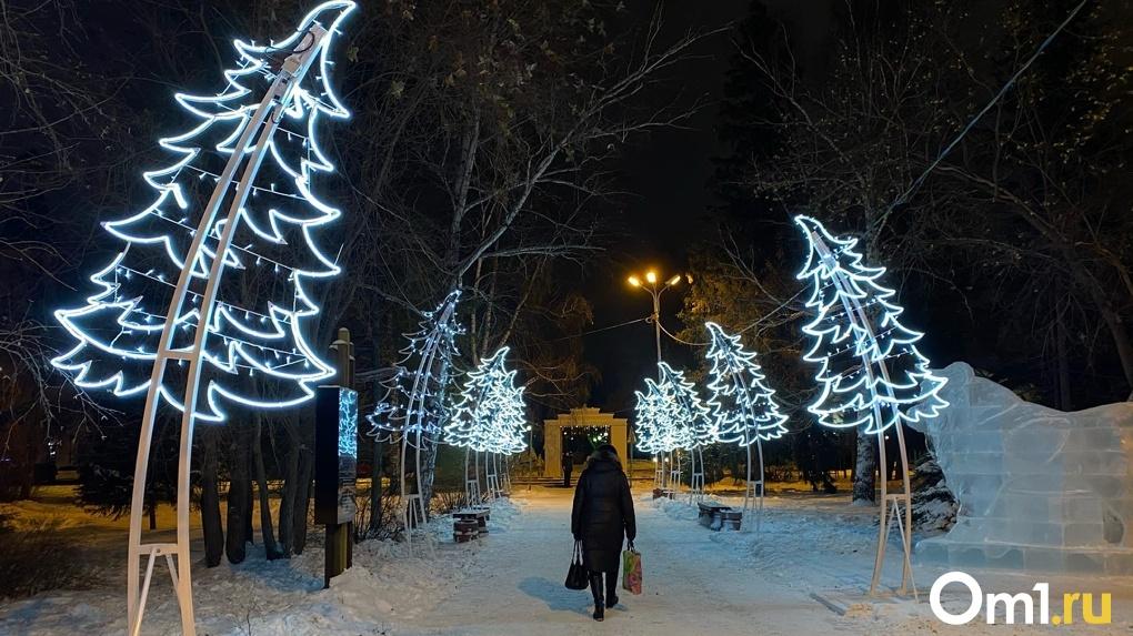 Невероятная красота в центре города. В Омске открылся новогодний туристический маршрут. ФОТО, ВИДЕО