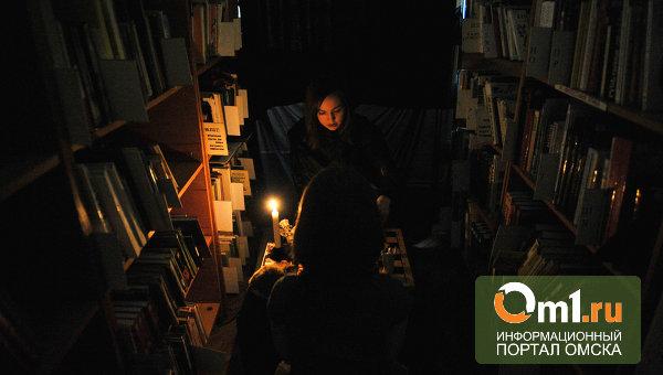В омских библиотеках ночью разрешат читать книги
